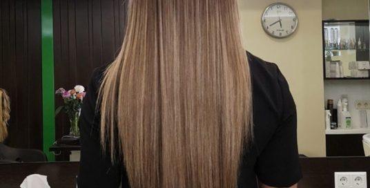 Абсолютне щастя для волосся від Lebel, стрижка та об'ємна укладка для Юлії Шум в…